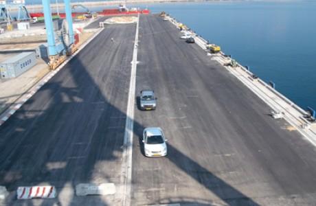 Upgrade of Pier 7, Ashdod Port